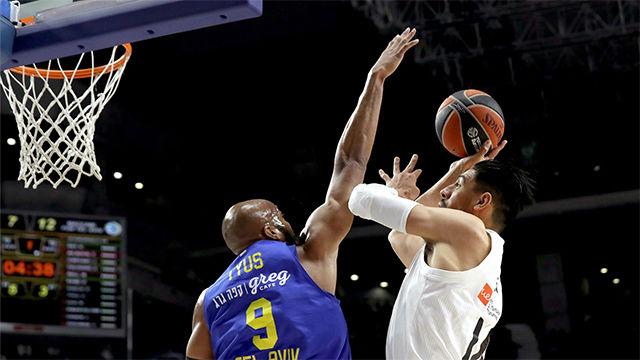 El Real Madrid se lleva la victoria ante el Maccabi (77-81)