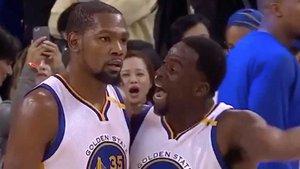 La relación entre Durant y Green está tocada tras su incidente ante Clippers