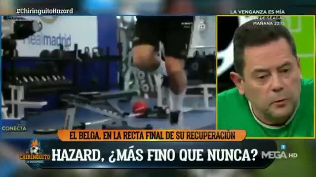 Roncero comparte su dieta para recomendársela al propio Hazard