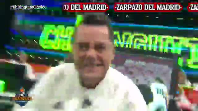 ¡Roncero se viene arriba! El baile en la cara de Cristobal Soria tras ganar el Madrid el Clásico