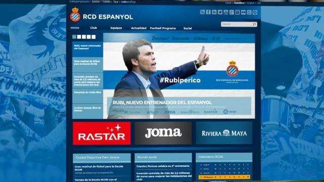 Rubi, nuevo entrenador del Espanyol
