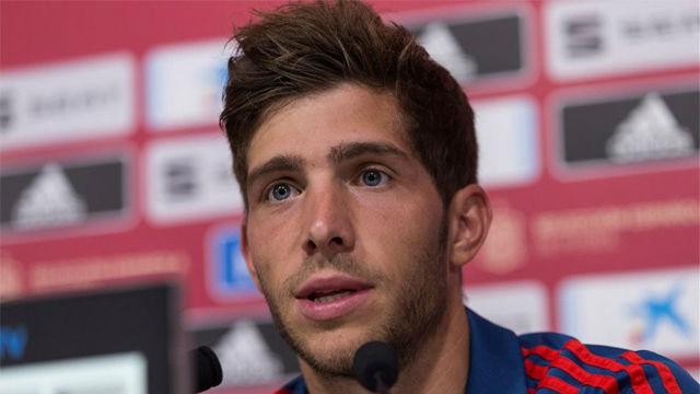 Sergi Roberto: Quería ir al Mundial, creía que había hecho una buena temporada