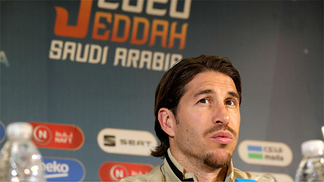 Sergio Ramos: Somos los mismos que perdimos en Mallorca
