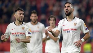 Sevilla sigue firme en la Europa League