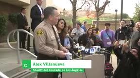 Sheriff Alex Villanueva: Murieron el piloto y ocho pasajeros