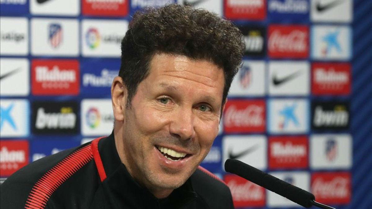 Simeone dice que la Copa siempre le ha gustado