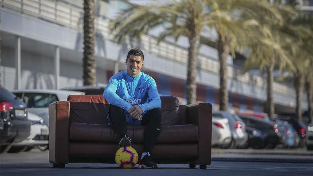 Suárez: Me gustaría retirarme en el FC Barcelona