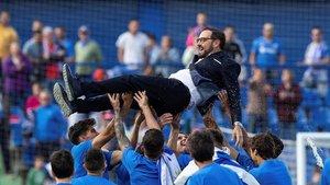La temporada de su Getafe le puede valer a Bordalás el salto a un grande de Europa