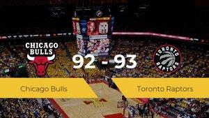 Toronto Raptors se impone a Chicago Bulls por 92-93