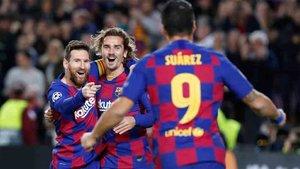 El tridente del Barcelona vuelve a marcar