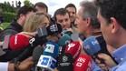 Txiki Begiristain felilcitó al Girona