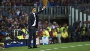 Valverde volvió a rendirse ante el poderío de Leo Messi