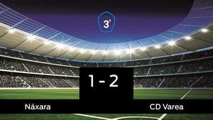 El Varea doblegó al Náxara por 1-2