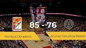 Victoria del Monbus Obradoiro ante el Acunsa Gipuzkoa Basket por 85-76