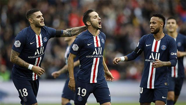 Victoria fácil del PSG ante el Angers
