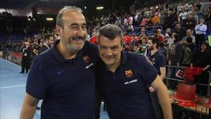 Xavi Pascual, feliz con la conquista de un nuevo título