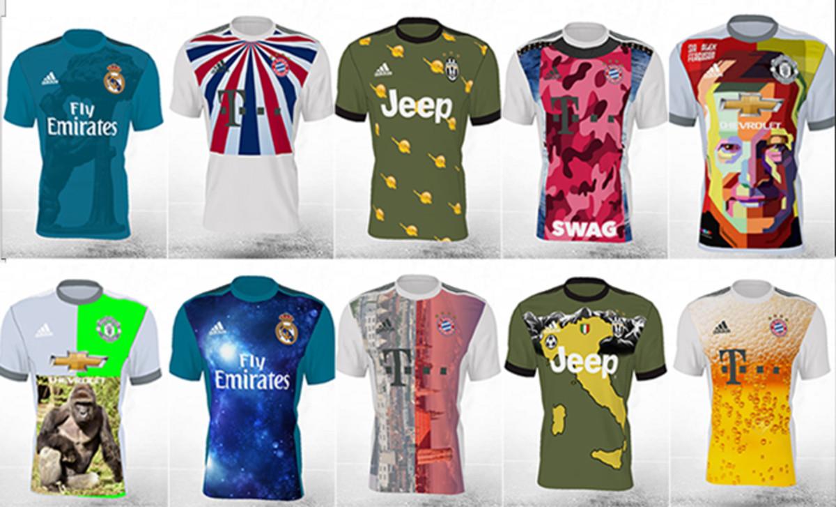 El 'museo de los horrores' de las camisetas de fútbol d34db336195b3