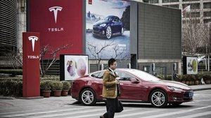 Tesla sufre una gran caída de sus ventas en China.