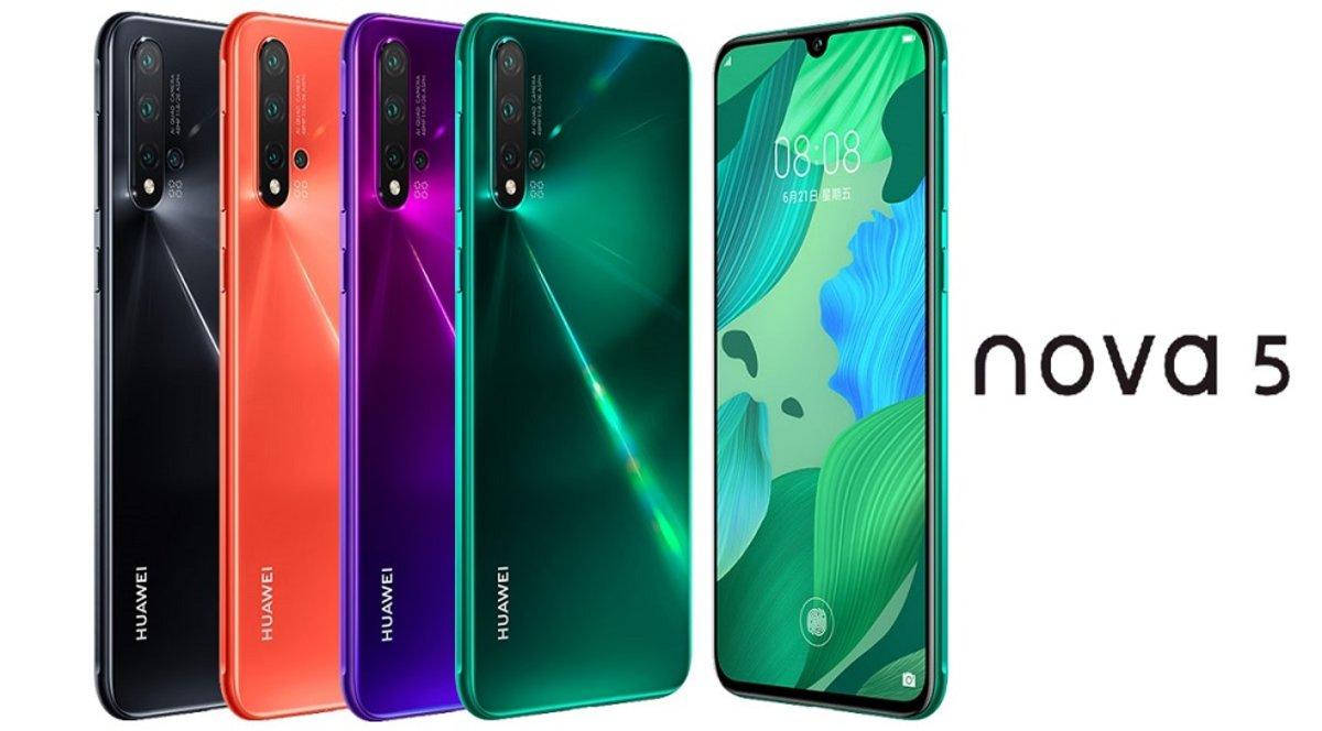 Huawei presenta oficialmente los nuevos nova 5 y 5 Pro