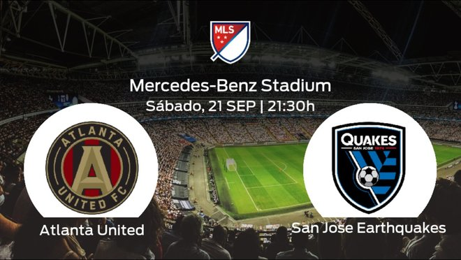 Previa del encuentro de la jornada 37: Atlanta United contra San Jose Earthquakes