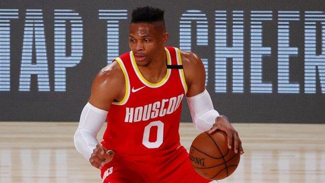 Los Rockets se quedan sin Westbrook en la primera ronda de los 'playoffs'
