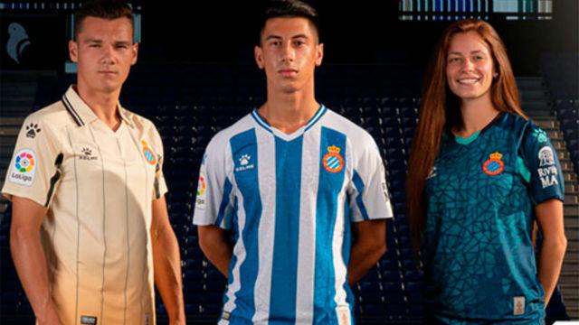 Así son las nuevas equipaciones del Espanyol 2020-21