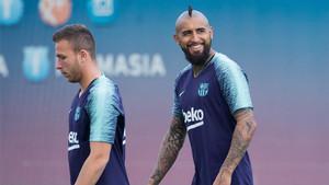 Arturo Vidal utilizará un nuevo dorsal