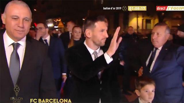 Así es el traje de Messi en la gala Balón de Oro 2019