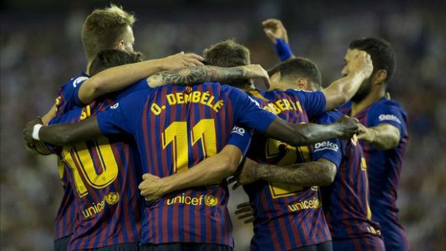 El Barça jugará con el once de gala ante el PSV