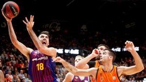 Barça Lassa y Valencia Basket se ven las caras en un partido clave