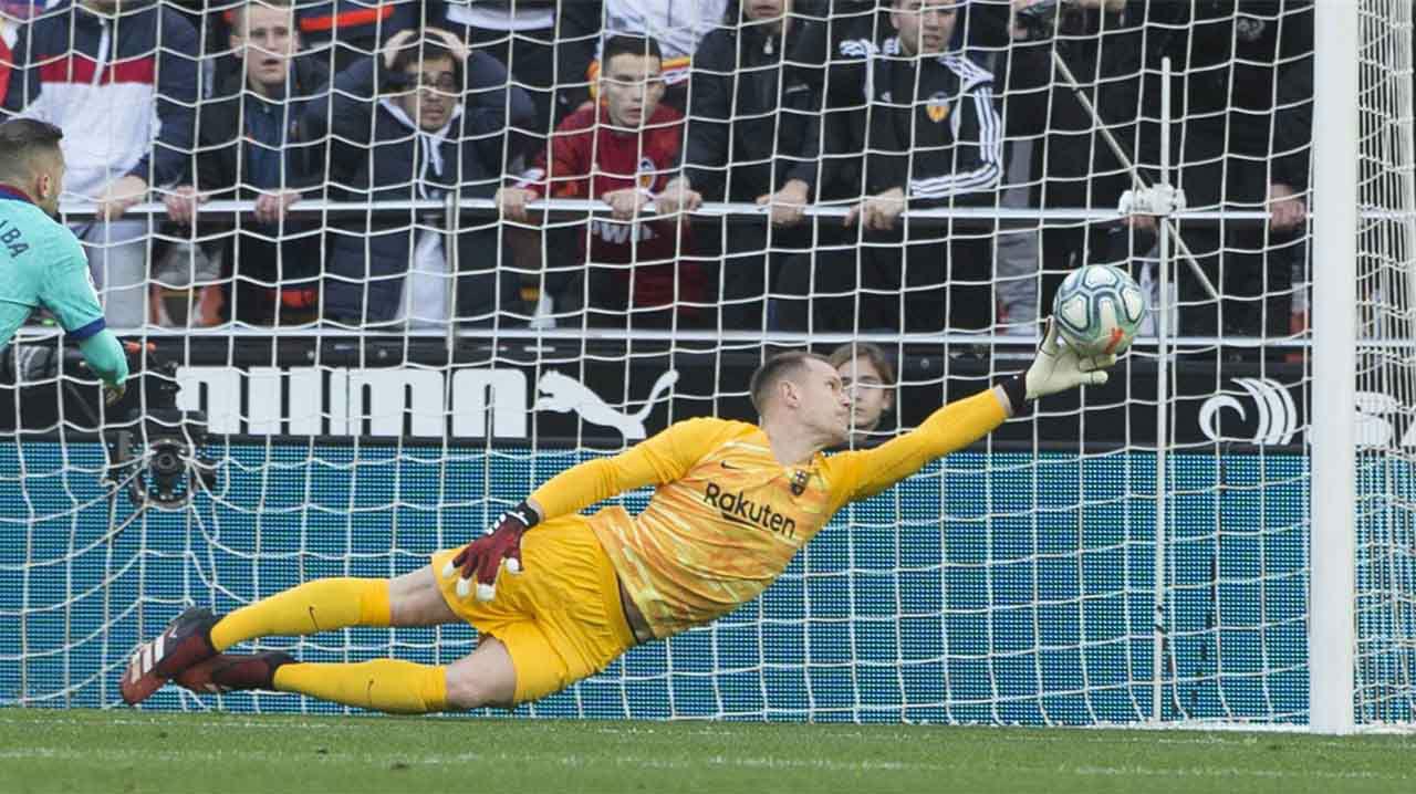 Barça y Ter Stegen se alejan en las negociaciones de la renovación