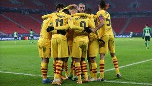 El Barça, único equipo con pleno de victorias en la Champions