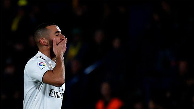 Benzema empató el partido ante el Villarreal. Así narró la radio el gol del francés