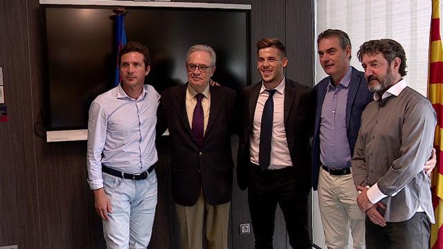 Carles Pérez: Quiero seguir creciento junto al Barça