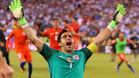 Claudio Bravo fue el héroe de Chile ante Argentina
