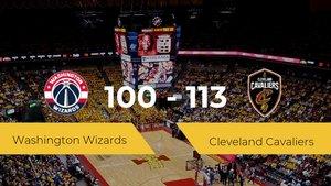 Cleveland Cavaliers gana a Washington Wizards por 100-113