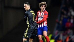 Cristiano Ronaldo y Griezmann