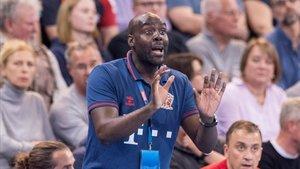David Davis llegó al Veszprém el pasado verano y lo ha clasificado para la Final Four