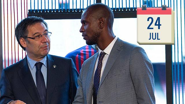 8 días para resolver 8 problemas en el Barça