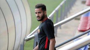 Douglas finaliza su contrato con el Barça