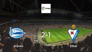 Eibar suffers defeat against Alavés with a 2-1 at Estadio de Mendizorroza