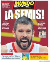 Esta es la portada de Mundo Deportivo de este 11 de septiembre