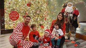 La familia Messi ha felicitado la Navidad a sus seguidores