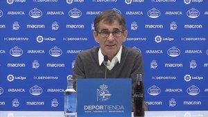 Fernando Vázquez, técnico del conjunto gallego