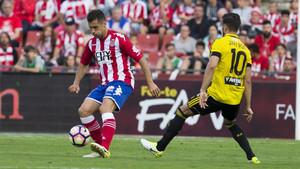 El Girona aprovechó su oportunidad de oro ante el Zaragoza