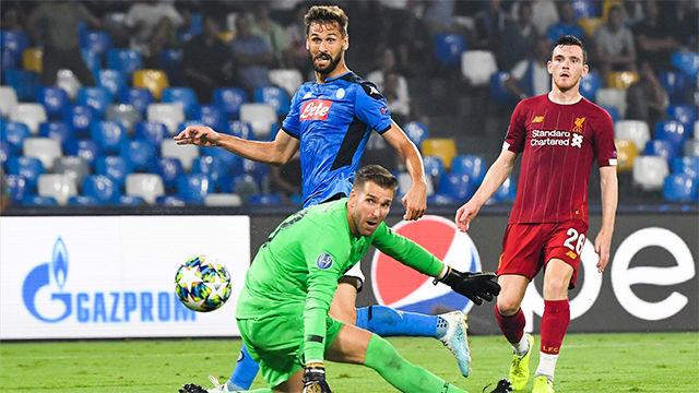 El gol de Llorente nació de un error de Van Dijk