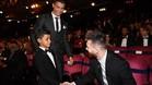 El hijo de Cristiano Ronaldo vuelve a encontrarse con Leo Messi