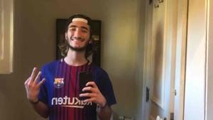 El hijo de Mourinho es un fan de Messi