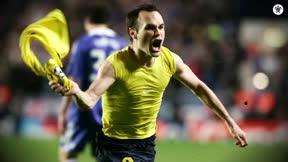 Hijos del Iniestazo: el gol al Chelsea cumple 11 años y así lo celebra Iniesta