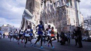 Imagen de archivo de la Zurich Marató de Barcelona